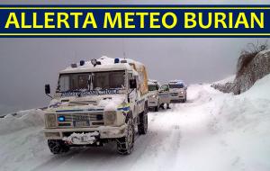 Allerta Meteo Burian, Italia al gelo e sotto la neve: ecco l'avviso della Protezione Civile [MAPPE e ...