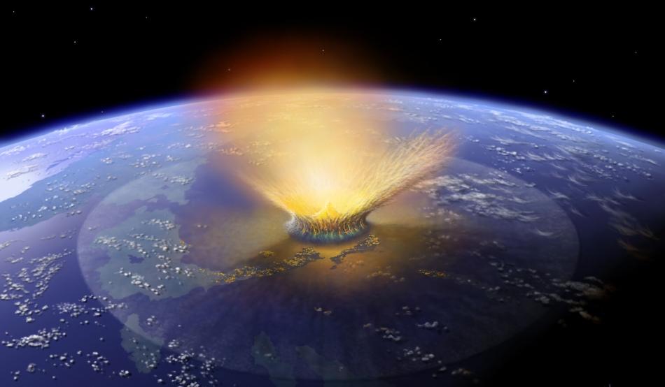 asteroide 66 milioni di anni fa