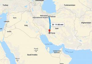 Gravissimo incidente in Iran: aereo precipita con 66 persone