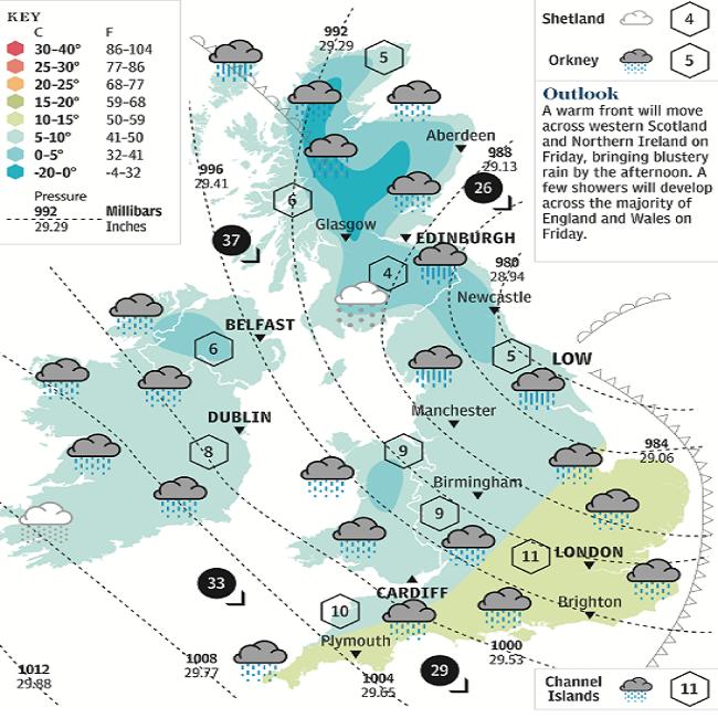 meteo Regno Unito neve