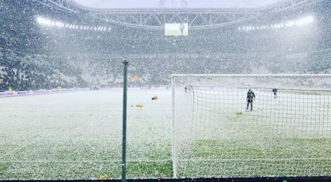 Burian, bufera incredibile a Torino con  3°C: Juventus Atala
