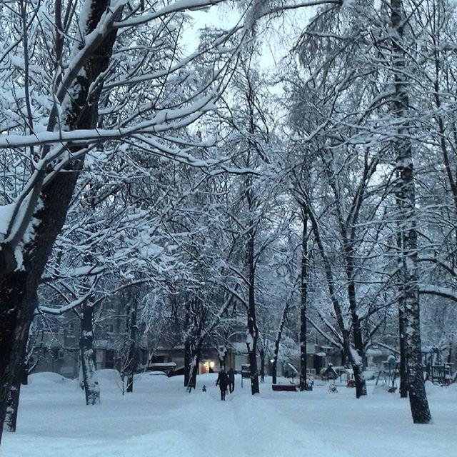 neve Russia Mosca