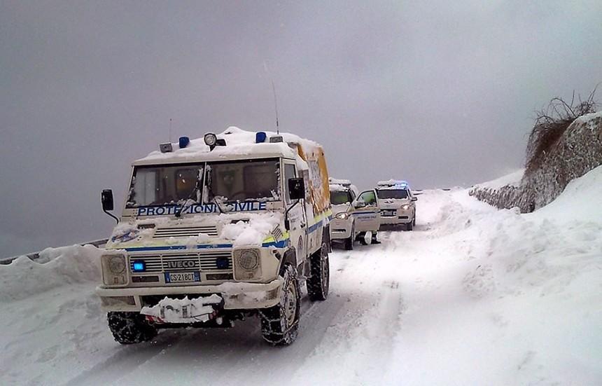 protezione civile neve allerta meteo