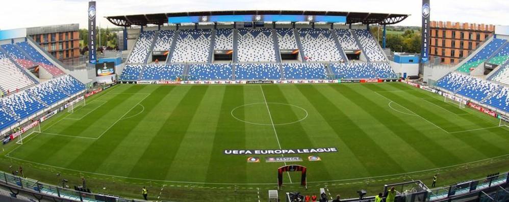 europa league atalanta borussia dortmund neve (1)