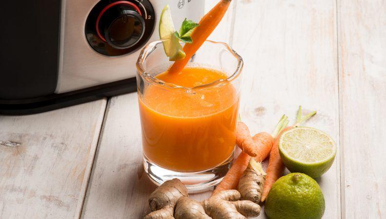 succo carota e zenzero