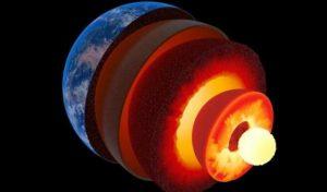 terra interno struttura pianeta