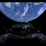 La Tesla spaziale di Elon Musk oltre l'orbita di Marte