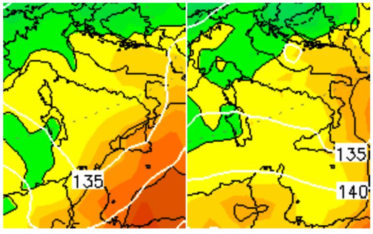 Le temperature previste sull'Italia per Domenica 18 e Lunedì 19 Marzo: niente freddo sull'Italia, clima ancora mite