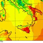Previsioni Meteo Weekend, caldo incredibile al Sud: minime di +26°C in Calabria e +22°C in Campania, oltre +20°C persino in montagna! Tutti i DATI