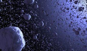 Aggregazione di gas granulare nello spazio
