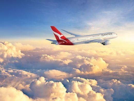 Boeing 787-9 Dreamliner Qantas Airways Australia-Europa