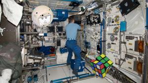 CIMON robot ISS