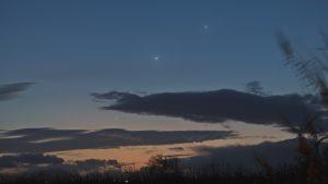 Luna Venere Mercurio