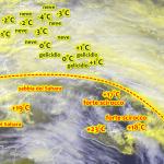Allerta Meteo Italia, avanza lo scirocco: Palermo vola a +23°C, Sardegna avvolta dalla sabbia del Sahara. Gelicidio al Centro, neve forte al Nord [LIVE]