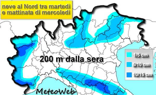 Previsioni Meteo, colpo di coda dell'Inverno sull'Italia: ta