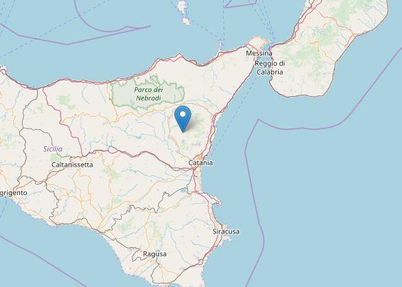 Terremoto Etna Ragaln