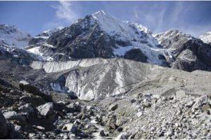 bacini fluviali alpini ghiacciai