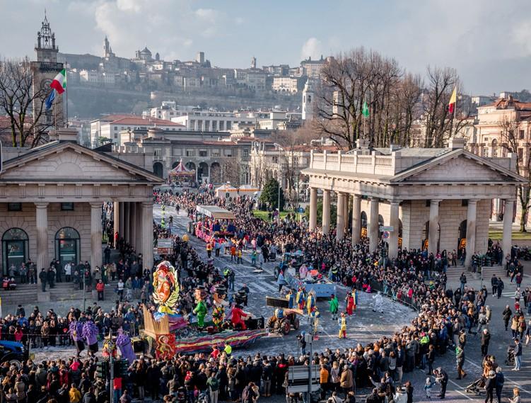 Bergamo La Festa Di Mezza Quaresima Annullata Per Il Maltempo Di