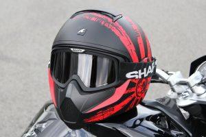 casco incidenti moto