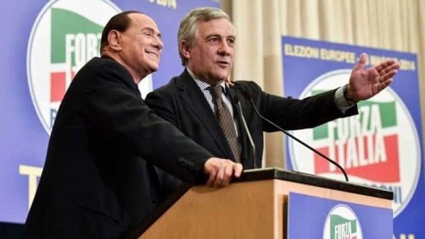 elezioni berlusconi tajani
