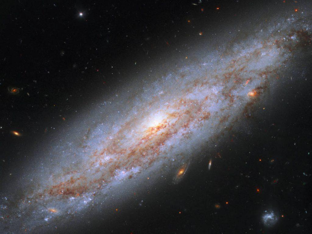 galassia NGC 3972 Hubble