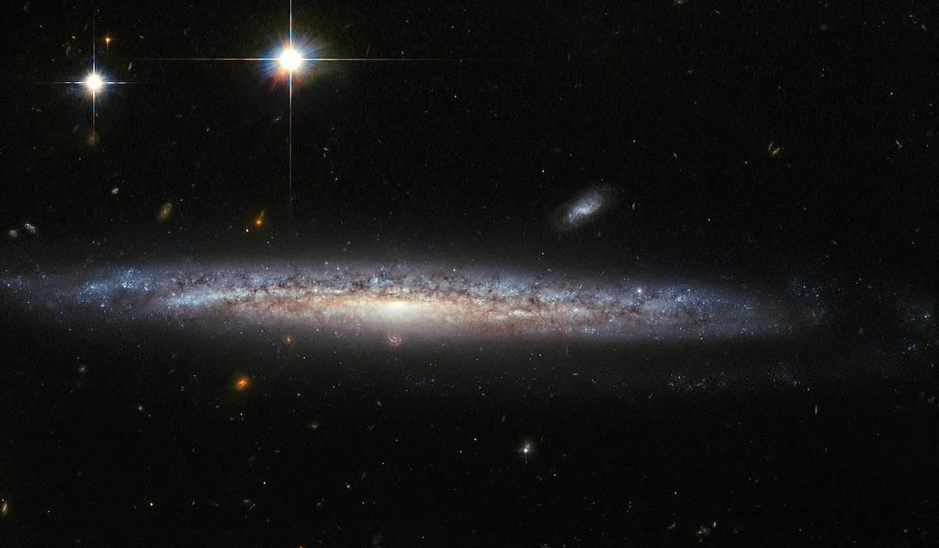 galassia a spirale NGC 5714 Hubble
