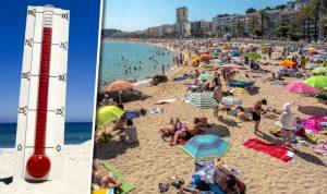 previsioni meteo caldo estate spiaggia