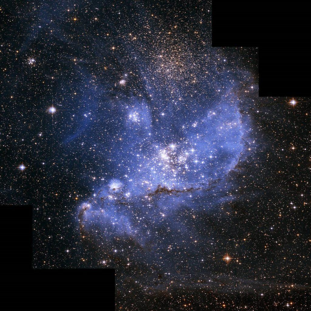 stelle NGC 346 Hubble