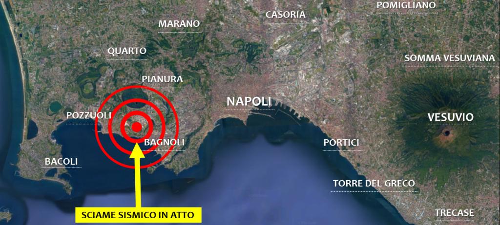 terremoto napoli pozzuoli sciame sismico campi flegrei