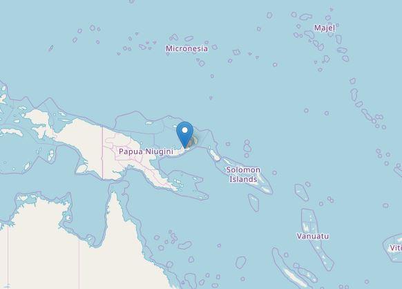 Scossa di terremoto magnitudo 6.4 in Papua Nuova Guinea [DAT