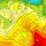 Previsioni Meteo, un ciclone sulla Tunisia nel weekend porterà nubi, sabbia e scirocco sull'Italia ma il caldo aumenta