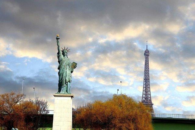 Statua della Libertà, Parigi