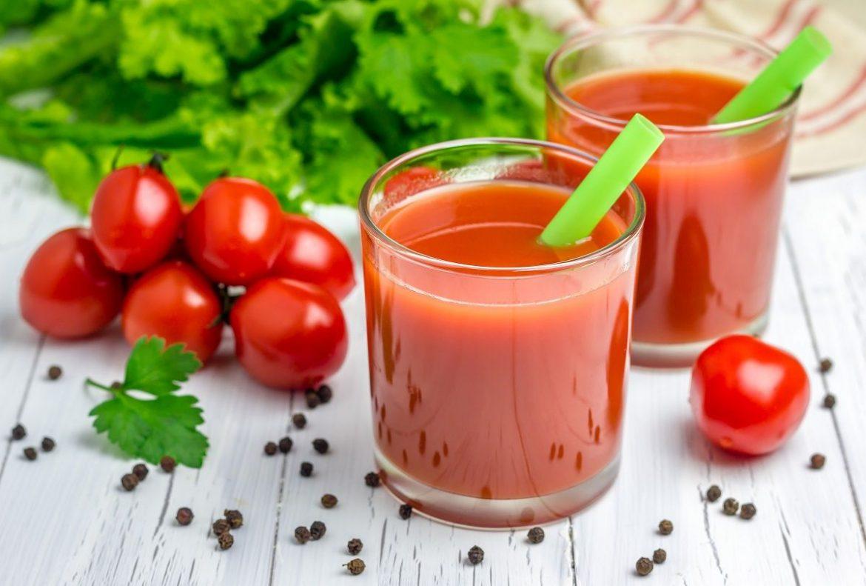 succo pomodoro e zenzero