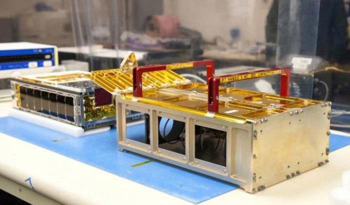 Uno dei due cubesat al Jet Propulsion Laboratory della Nasa