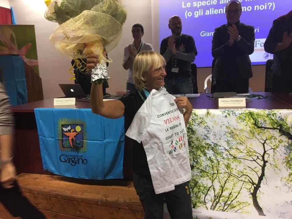 Vienna Cammarota festeggiata in Puglia