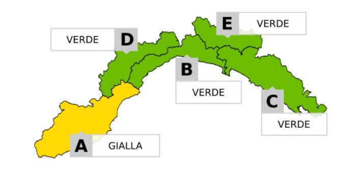 allerta meteo Liguria