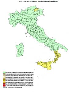 Maltempo, nuova allerta meteo della Protezione Civile: rovesci e temporali su Calabria e Sicilia [MAPPE e ...