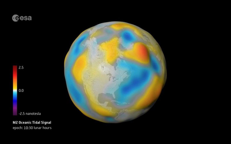 campo magnetico oceani