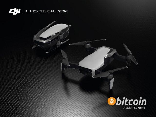 droni bitcoin