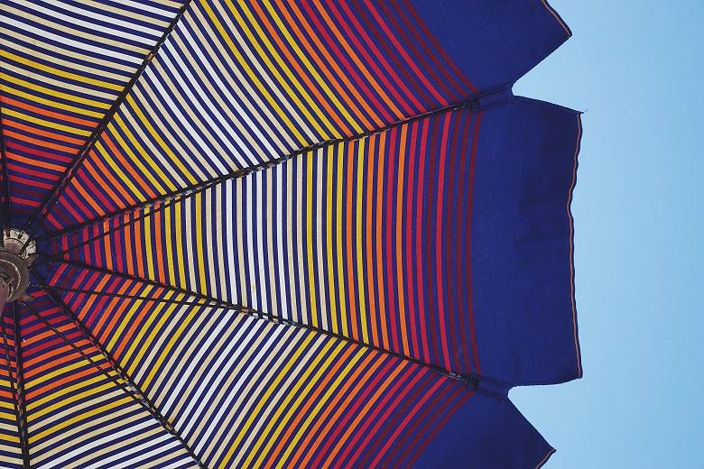 estate vacanza ombrellone