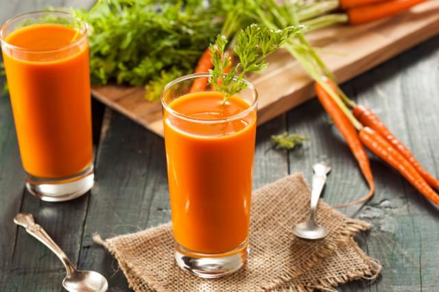 bevanda cetrioli e carote