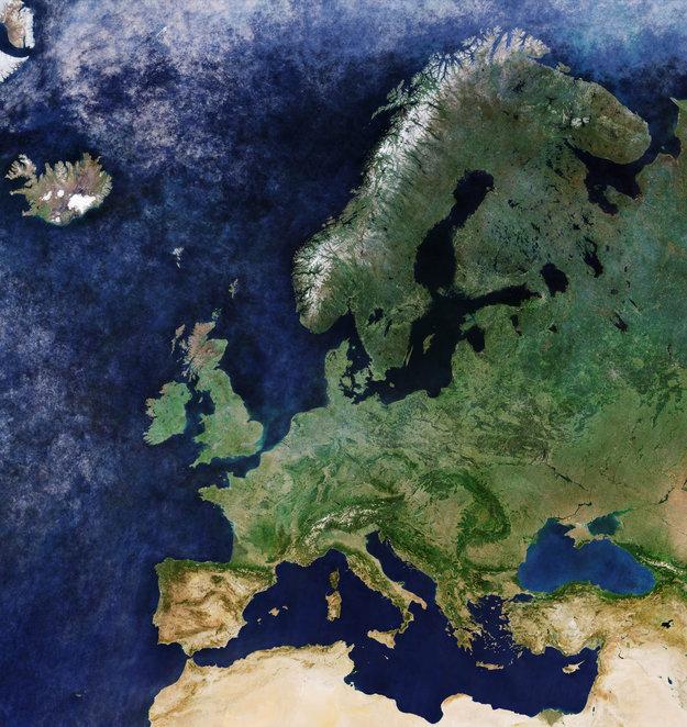 europa senza nuvole