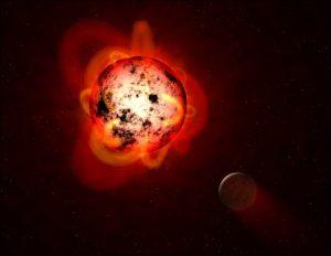 nana rossa esopianeta