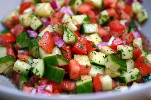 insalata diuretica