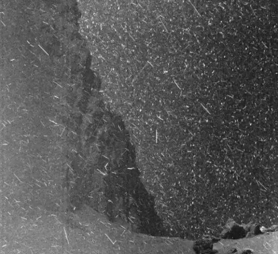 tempesta di neve rosetta
