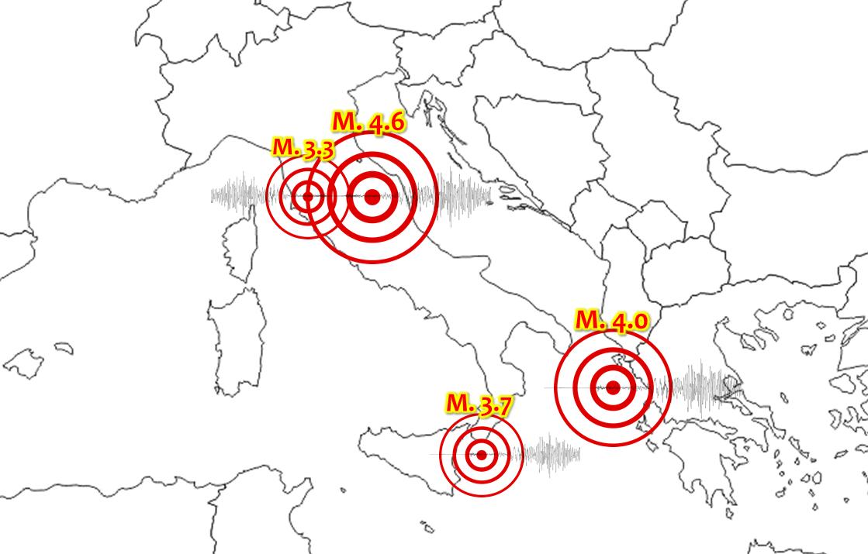 terremoti italia scosse