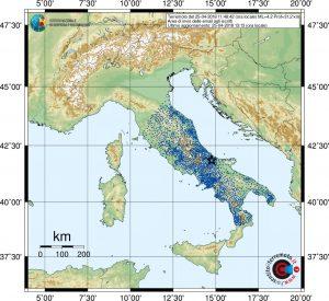 terremoto molise 25 aprile