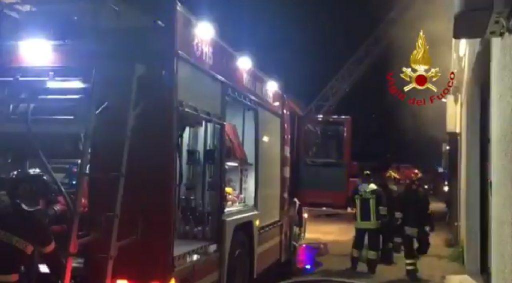 vigili del fuoco san donato milanese