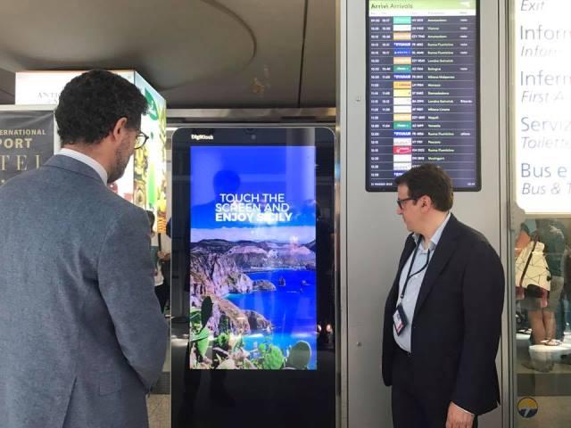 Digikiosk aeroporto catania