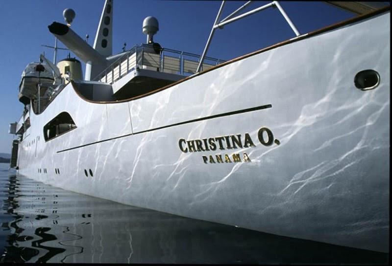 Christina O. yacht Onassis